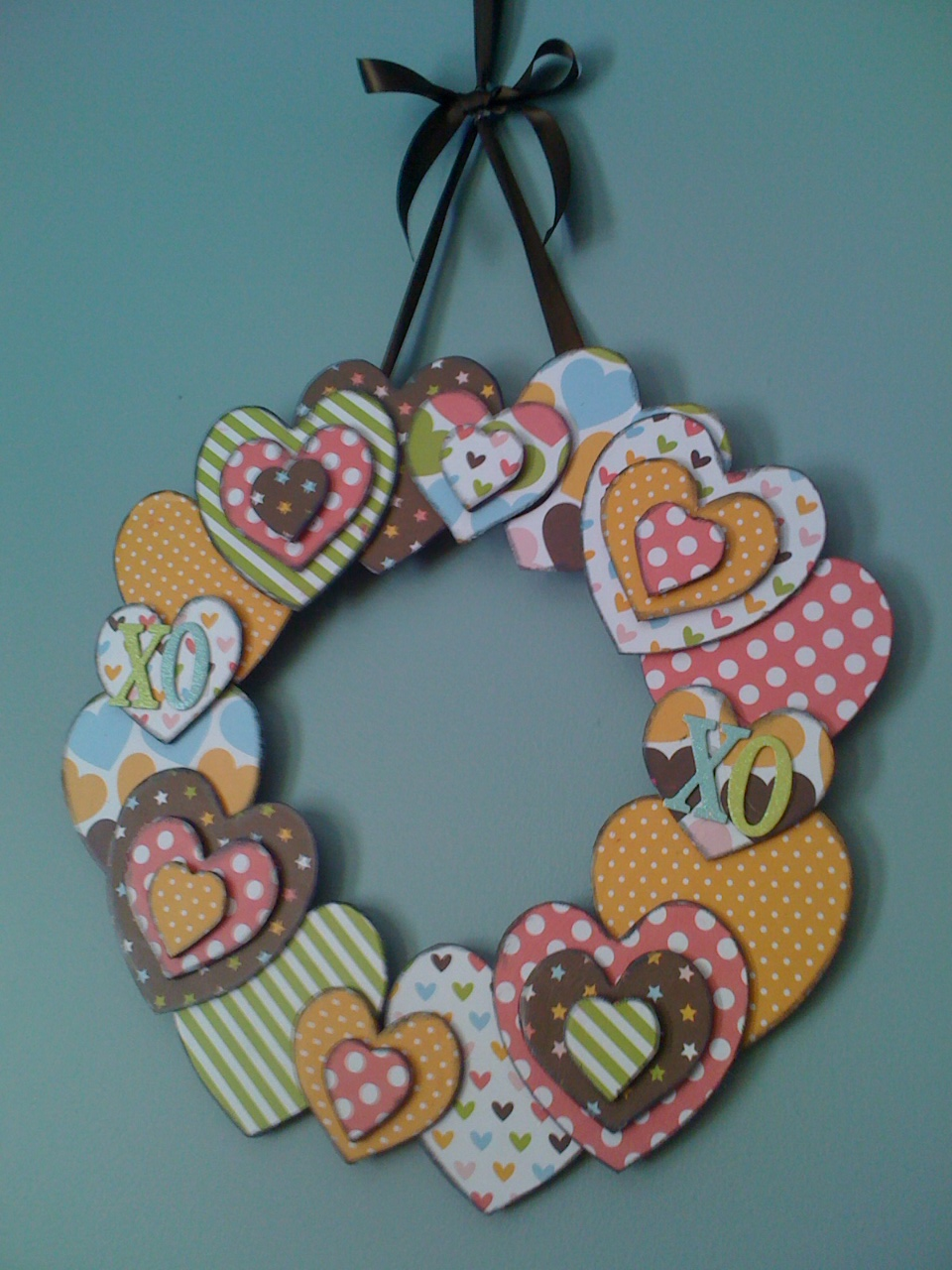 Life love laughter linds valentine 39 s wooden heart for Wooden hearts for crafts