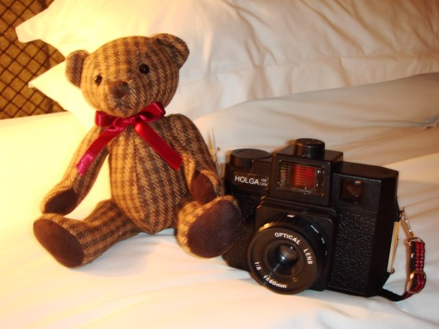My Lovely Holga & Worry Bear