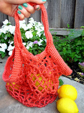 Crochet Mesh Produce Bag