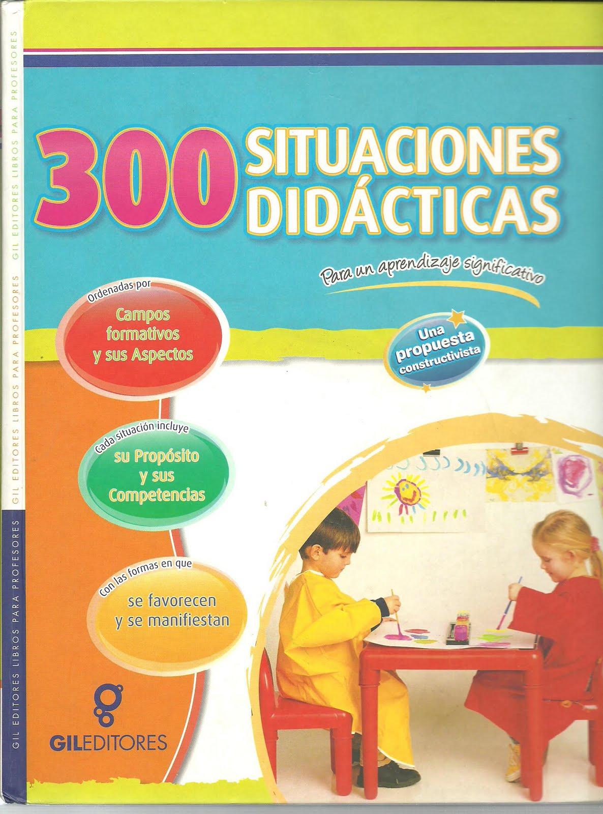 Libro  300 SITUACIONES DID  CTICAS COMPETENCIAS PREESCOLAR CAMPOS