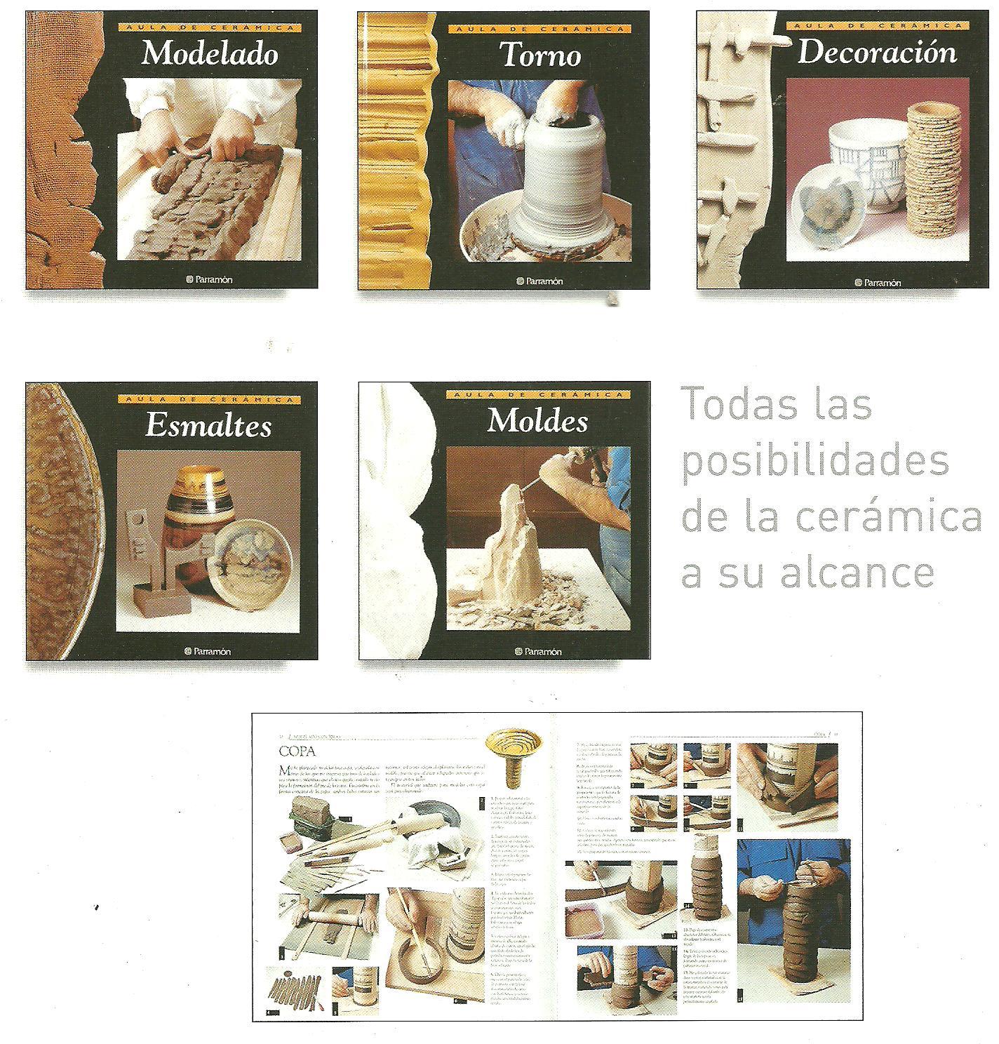 Libros dvds cd roms enciclopedias educaci n preescolar Libros de ceramica pdf