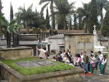 salida pedagogica al museo cementerio de san pedro