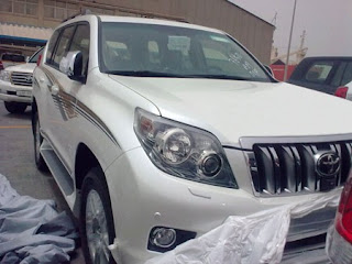 Toyota Prado Facelift 2010