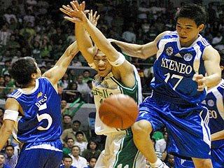 Ateneo Wins UAAP 2008 Men's Basketball Championship | Ibalon