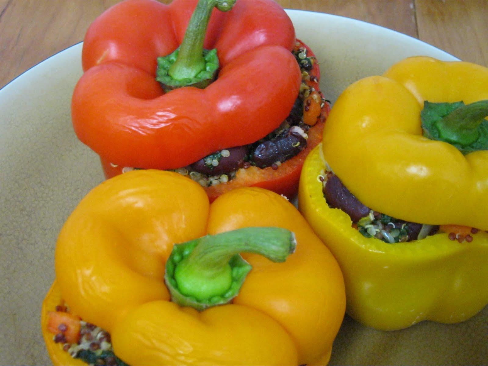 Vegan Stuffed Peppers for Dinner