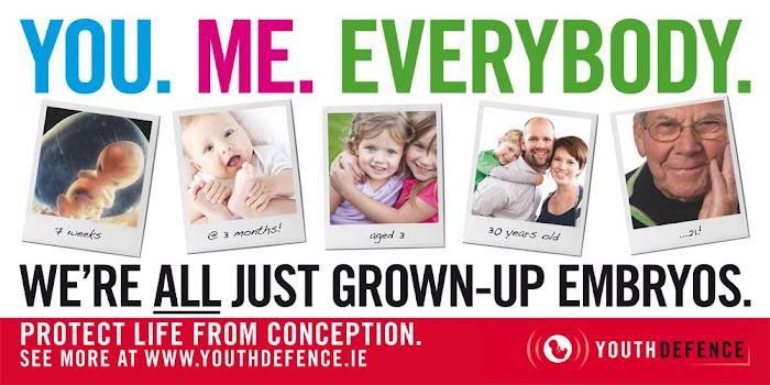 "Poster from the ""You.Me.Everybody. Campaign"" of Youth Defence, Irish pro-life youth movt."