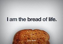 Jesus é o pão da vida!