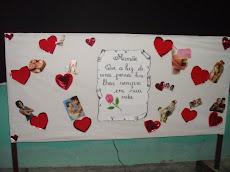 Mural em homenagem a mamãe