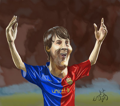 Lionel Messi on Lionel Messi Jpg