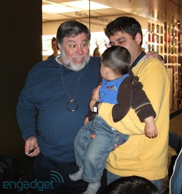 ipad steve wozniak ny 2 Sortie de liPad : Steve Wozniak Fait la Chaine Aussi (images)