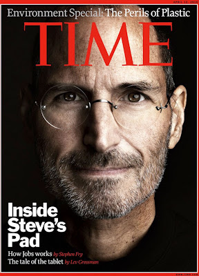 time magazine jobs Le Time sur iPad et Steve Jobs dans le Time (images)
