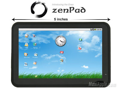zenpad ipad 1 Enso zenPad : Mini iPad à 155 $ (videos)