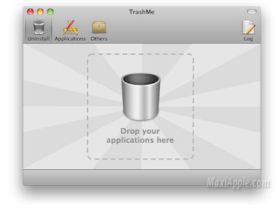 trashme mac osx TrashMe Mac OSX : Desinstaller Proprement (gratuit)