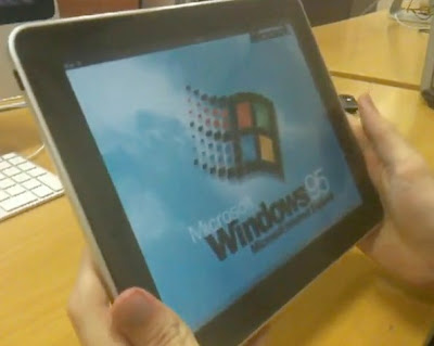youtube   windows 95 on ipad Windows 95 sur iPad avec lEmulateur BOCHS (video)
