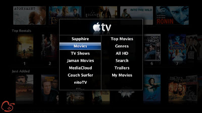 mainscreen Apple TV se Debride avec aTV Flash