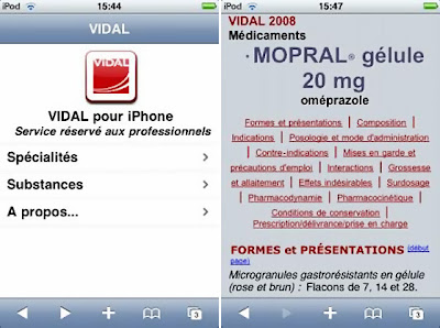 vdl2 Le VIDAL sur iPhone : Disponible (gratuit)