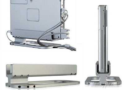 floter03 - MacBook Pro Floater : Ingenieux Support Vertical (images)
