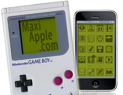 gameboy iphone iPhone 3G : Theme iGameboy Bluffant (gratuit)