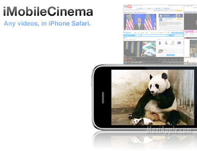 imobilecinema1 iMobileCinema iPhone : Du Flash avec Safari (gratuit)