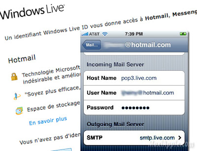 hotmail iphone Hotmail sur iPhone et Mac : Comment les Configurer