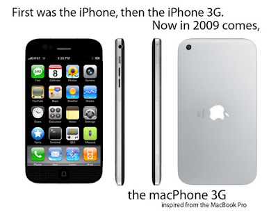 macphone 01 macPhone 3G : Excellent Concept iPhone (images)