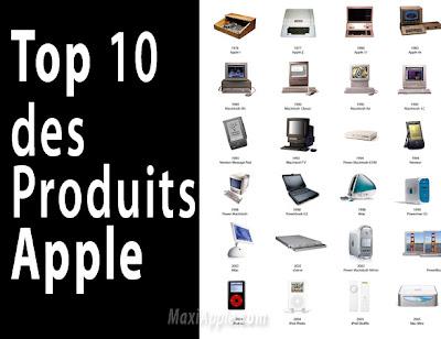 top10 apple - Apple : Top 10 des Produits Revolutionnaires