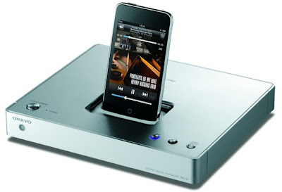 Onkyo+ND S1 Dock MediaCenter Onkyo ND S1 pour iPod Touch