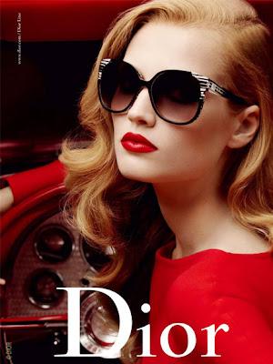 La femme dans la pub. Dior-eyewear-1