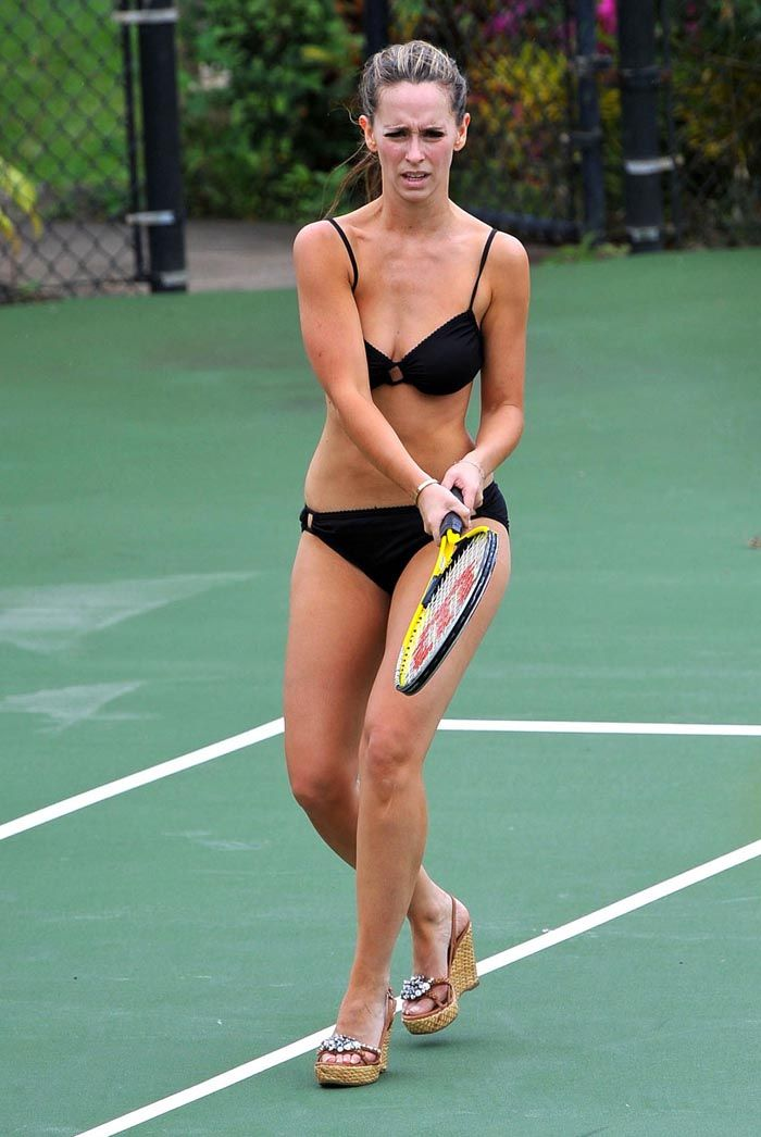 love tennis bikini Jennifer hewitt