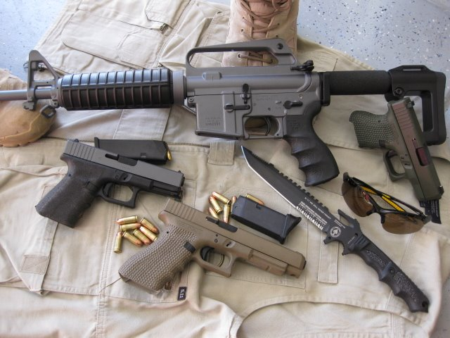 Ar-15 Glock Group photo