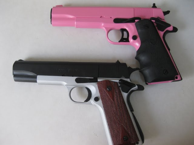 Pink and Black 1911