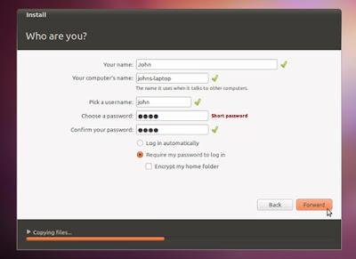 install 08 medium Gravação do CD, Criação do disco de Instalação USB e Instalação do Ubuntu