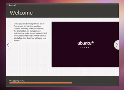 install 09 medium Gravação do CD, Criação do disco de Instalação USB e Instalação do Ubuntu