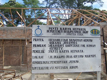 Pembangunan Asrama di PK Ephata