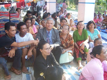 Berbagi Suka Cita dengan Korban Bencana Angin Puting Beliung-Bosar Tanah Jawa