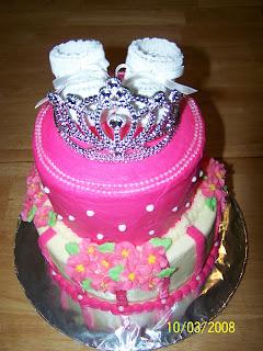 Sweet Mamas Cakes Princess Baby Shower Cake