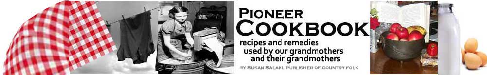 Pioneer Cookbook