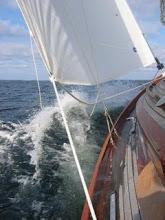"""Vår kära segelbåt """"Anja"""""""