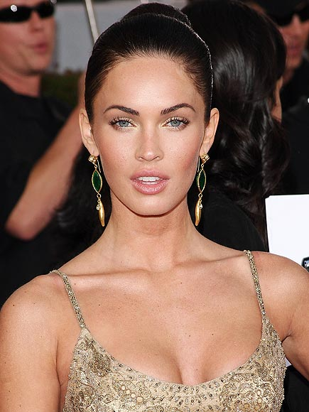 pictures of megan fox without makeup. megan fox makeup products.