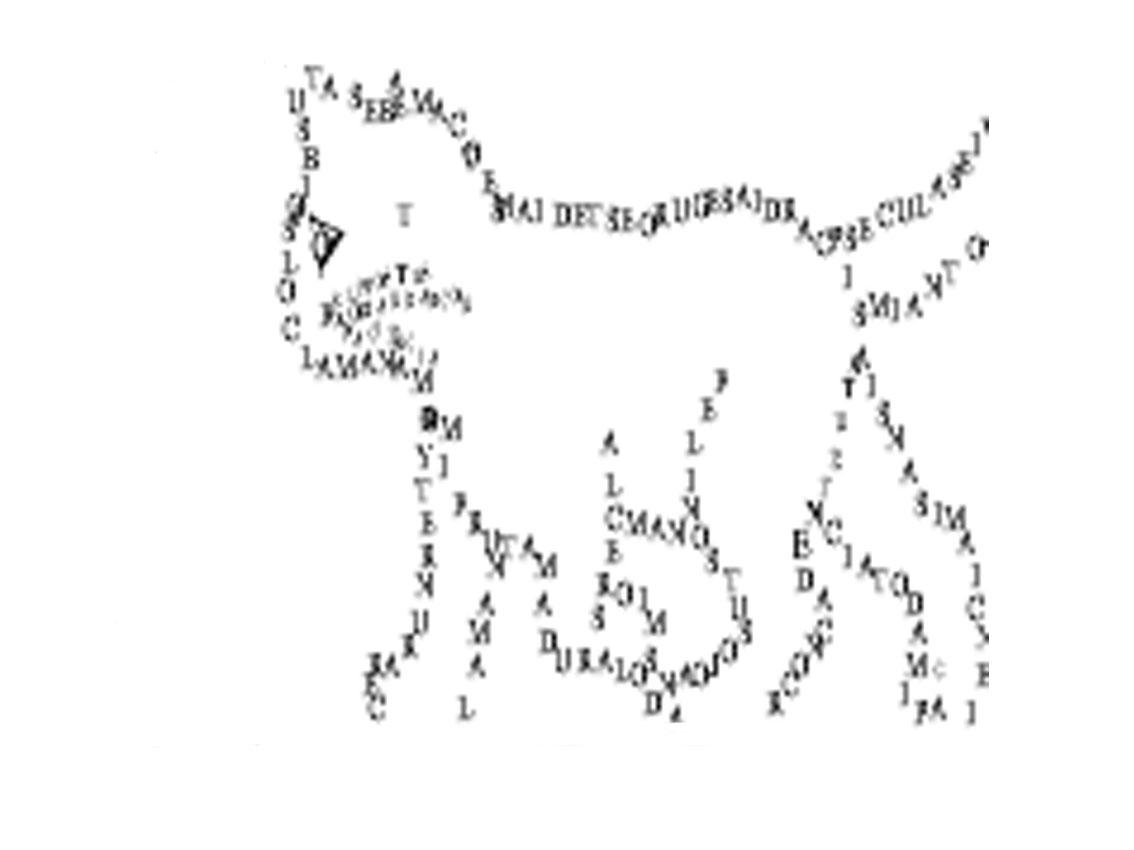 TRABAJOS MARCELA UD: caligrama