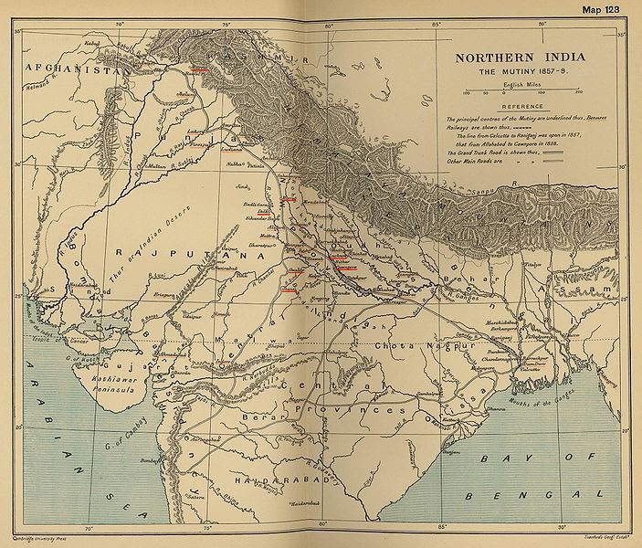 an analysis of the upheaval of british rule and the rebellion in 1857 The revolt of 1857 had been preceded by a series of disturbances in  in the  grievances that all sections of indian society nurtured against the british rule.
