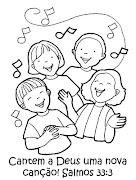 Realizamos uma enquete no blog com a seguinte pergunta: Você ensina cânticos .