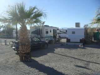 Palm Valley Fish Camp on Salton Sea Campground With Hot Springs Mineral Tubs