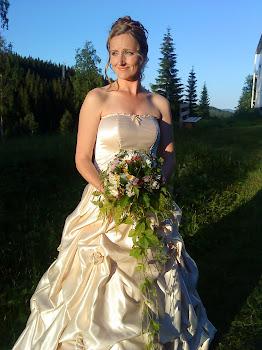 Klänning som syddes juli 2010