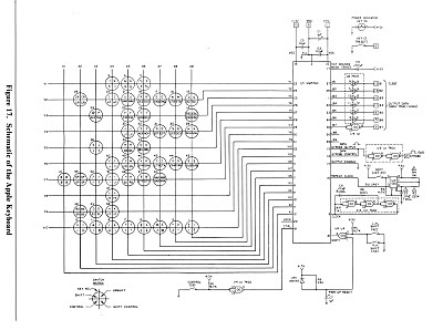 the apple 1 computer 1976 more info on the datanetics keyboard rh apple1computer blogspot com cv gate keyboard schematic schematic keyboard laptop