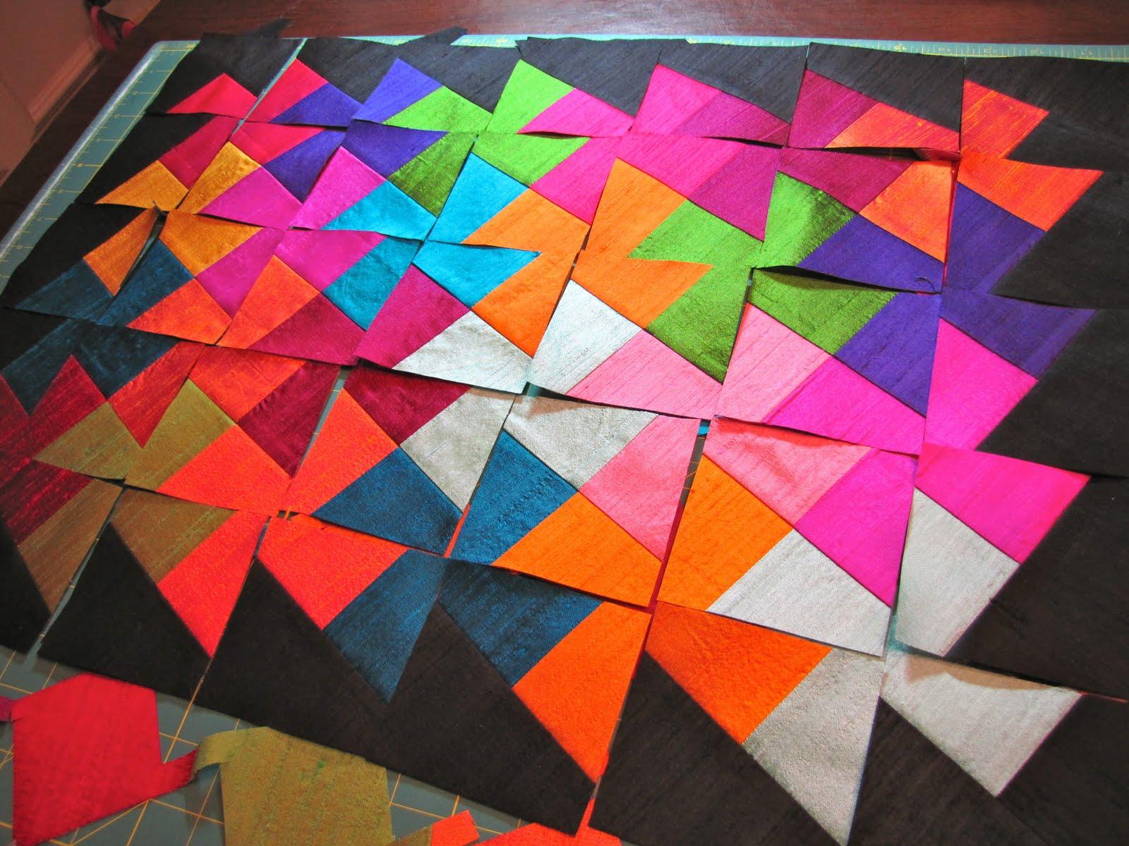 Canton Village Quilt Works | Lil' Twister Tutorial : twister quilt patterns - Adamdwight.com