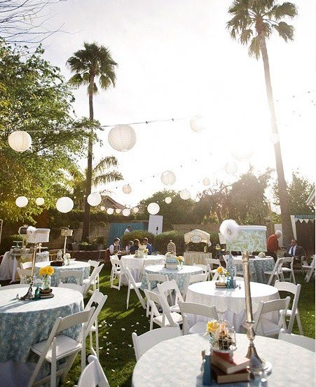 Home Backyard Wedding : Creative DIY Details {Backyard Wedding} ? Celebrations at Home