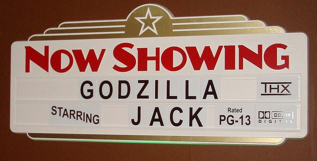 A Movie Theater Birthday Featuring Godzilla Guest Feature