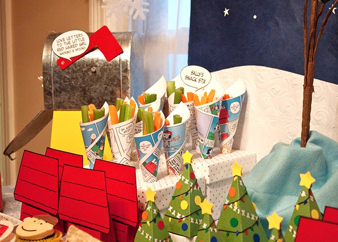 a charlie brown birthday guest feature celebrations at - Charlie Brown Christmas Decorating Ideas