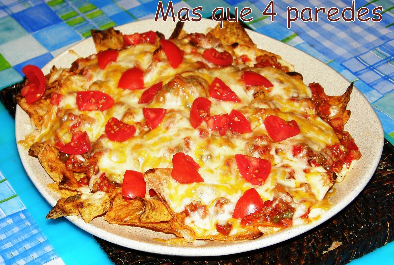 Como preparar nachos old el paso